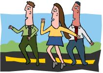 people-running