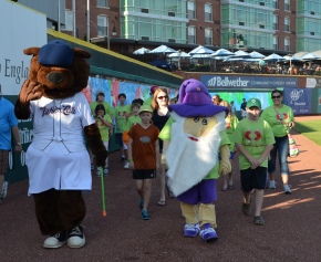 Last year, Fungo and NHICC walk with Team New Hampshire. This years honors are planned for this Saturday.