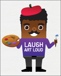 ChalD_FineArts_LaughArtLoud